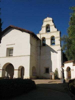 Mission San Juan Bautista image. Click for full size.