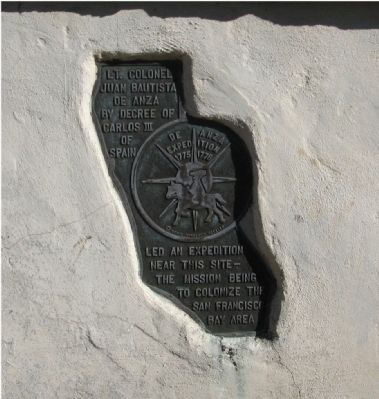 De Anza Expedition 1775 – 1776 Marker image. Click for full size.