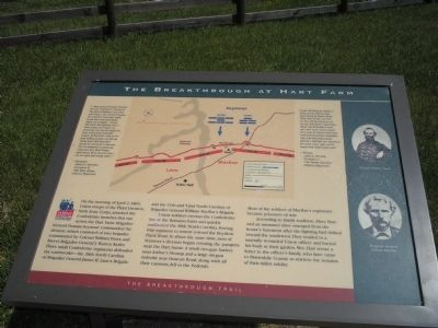 The Breakthrough at Hart Farm Marker image. Click for full size.