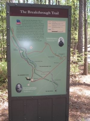 The Breakthrough Trail Marker Photo, Click for full size