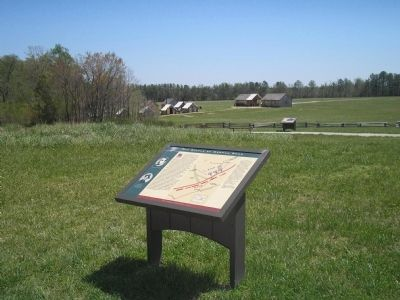 Marker on the Hart Farm image. Click for full size.