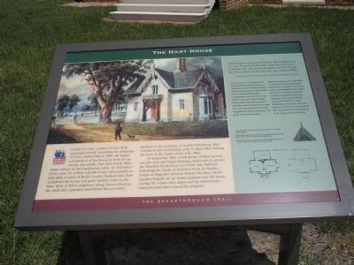 The Hart House Marker Photo, Click for full size