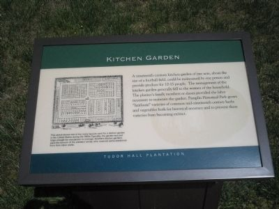 Kitchen Garden Marker image. Click for full size.