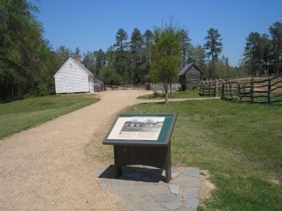 Marker at Pamplin Historical Park Photo, Click for full size