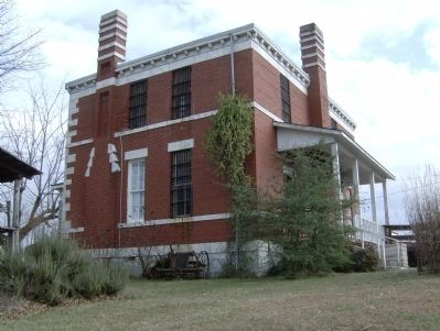 Old Pickens County Jail - Northwest Corner image. Click for full size.