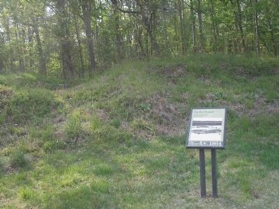 Fort Harrison Marker Photo, Click for full size