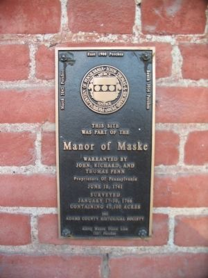 Manor of Maske Marker image. Click for full size.