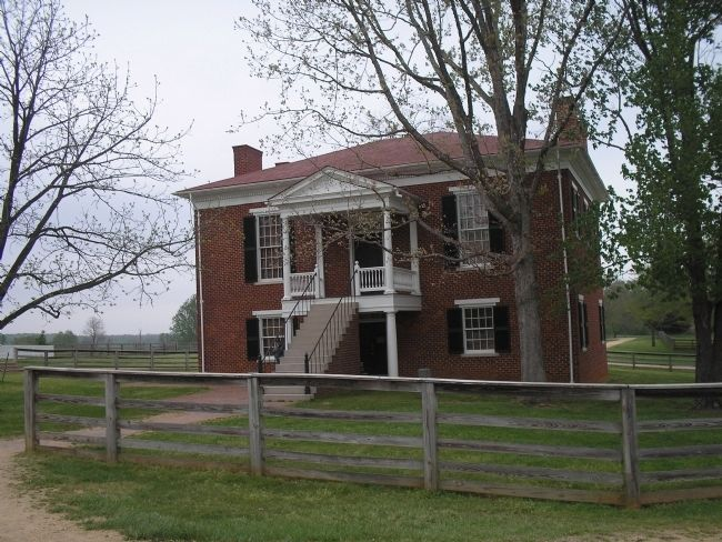 Original Appomattox Court House image. Click for full size.