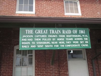 The Great Train Raid of 1861 Marker image. Click for full size.