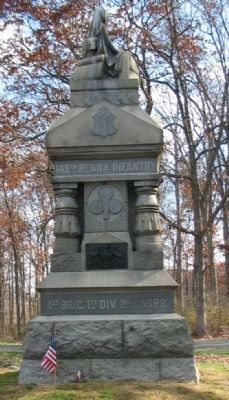 148th Pennsylvania Infantry Monument Photo, Click for full size