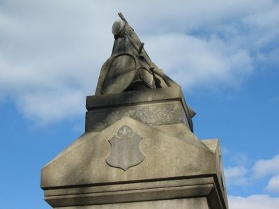 Finial at Top of Monument Photo, Click for full size
