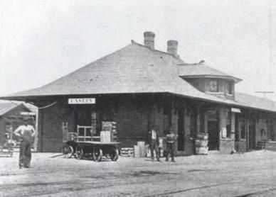 Easley Depot Photo, Click for full size