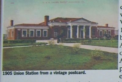 Norfolk and Western Passenger Station Marker Photo, Click for full size