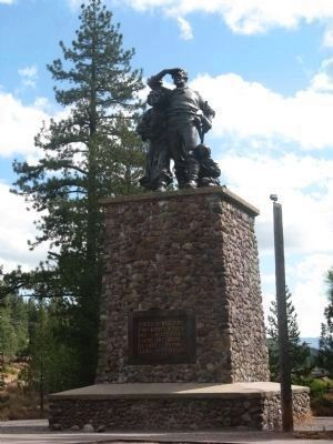 The Donner Monument image. Click for more information.