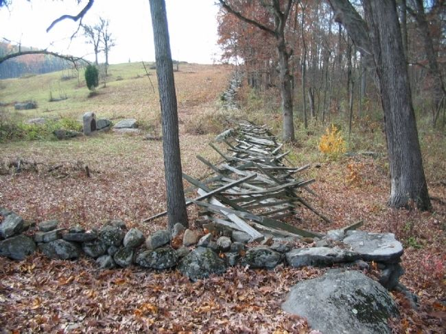 Trail along Fence Line to the Tablet Photo, Click for full size