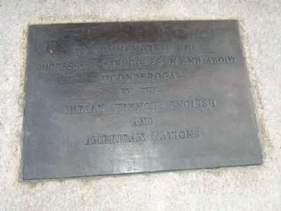 Liberty Monument Plaque image. Click for full size.