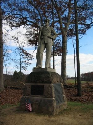 13th Pennsylvania Reservers Monument image. Click for full size.