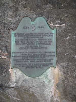 The Mount Vernon Memorial Highway Marker image. Click for full size.