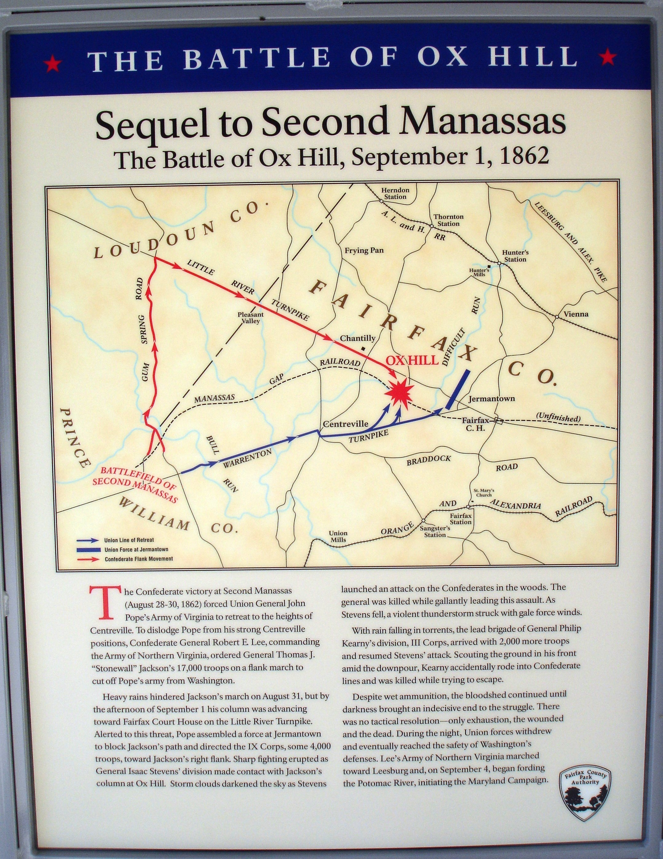 Sequel to Second Manassas Panel