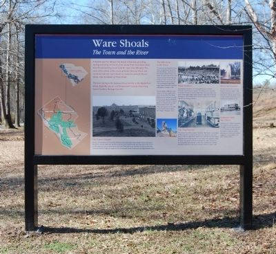 Ware Shoals Marker Photo, Click for full size
