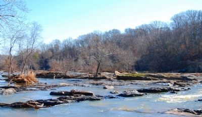 Saluda River and Shoals Photo, Click for full size