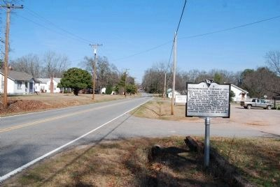 Boonesborough Township (1763) Marker -<br>Looking North Along Highway 184 image. Click for full size.