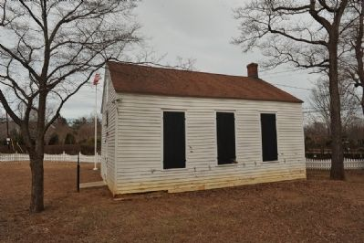 Side view of Montrose School House Photo, Click for full size