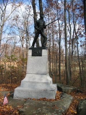 145th Pennsylvania Infantry Monument image. Click for full size.