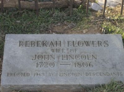Lincoln's Virginia Ancestors Marker Photo, Click for full size