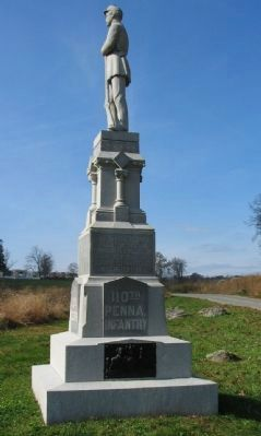 110th Pennsylvania Infantry Monument image. Click for full size.