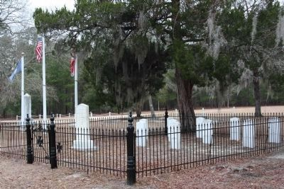 Our Confederate Dead Memorial Cemetery Photo, Click for full size