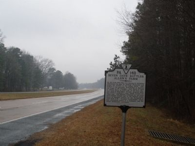 Allen's Farm Marker image. Click for full size.