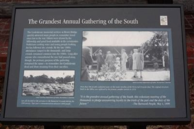 Plaque 3, The Grandest Annual Gathering of the South image. Click for full size.