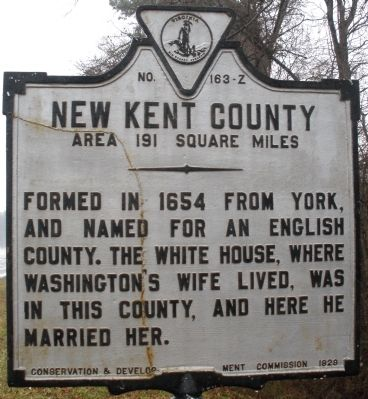 Henrico County/New Kent County Marker image. Click for full size.
