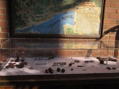 Battle of Williamsburg Artifacts Photo, Click for full size