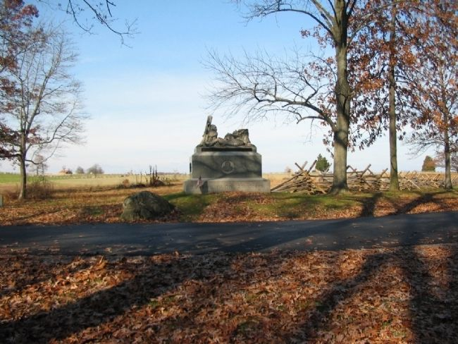 116th Pennsylvania Infantry Monument image. Click for full size.