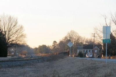 Site of nearby Atlee Station image. Click for full size.