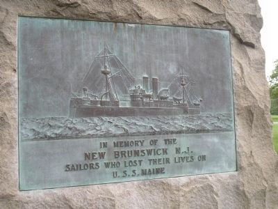 New Brunswick Sailors Marker (Back Side) image. Click for full size.