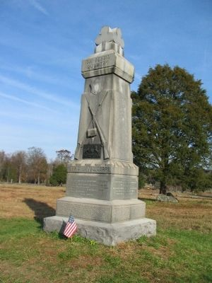 81st Pennsylvania Infantry Monument Photo, Click for full size