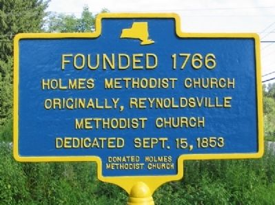 Holmes Methodist Church Marker Photo, Click for full size