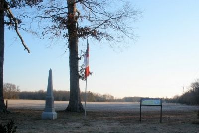 From Enon Church facing east toward Haw's Shop. image. Click for full size.