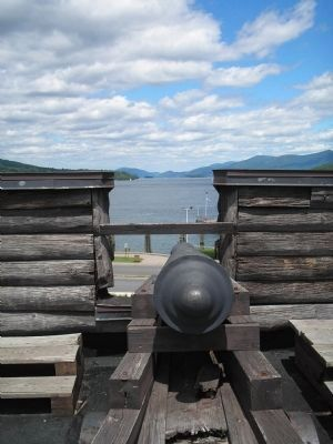 Cannon on Lake George image. Click for full size.