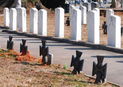 Unknown Confederate Tombstones image. Click for full size.