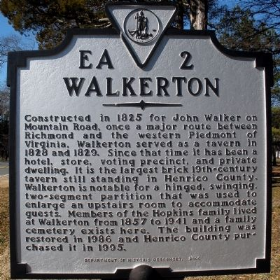 Walkerton Marker Photo, Click for full size