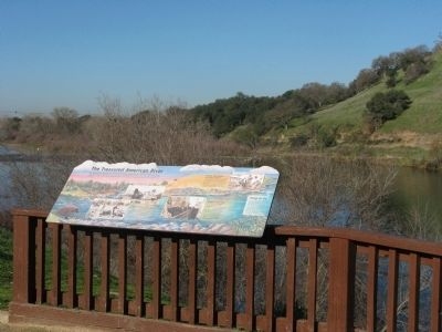 The Treasured American River Marker Photo, Click for full size