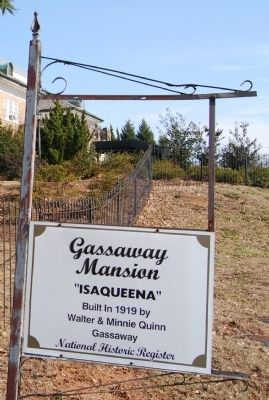 Gassaway Mansion Marker image. Click for full size.