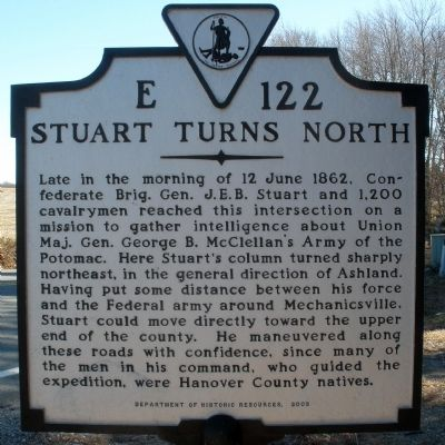 Stuart Turns North Marker image. Click for full size.
