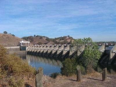 Nimbus Dam (Looking Northeast) Photo, Click for full size