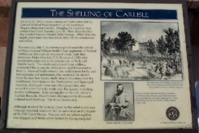 The Shelling of Carlisle Marker image. Click for full size.