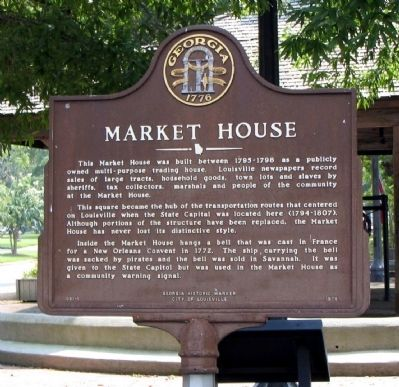 Market House Marker image. Click for full size.